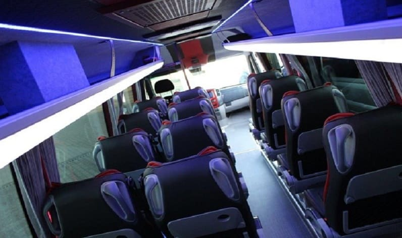 Romania: Coach rent in Vâlcea County in Vâlcea County and Râmnicu Vâlcea